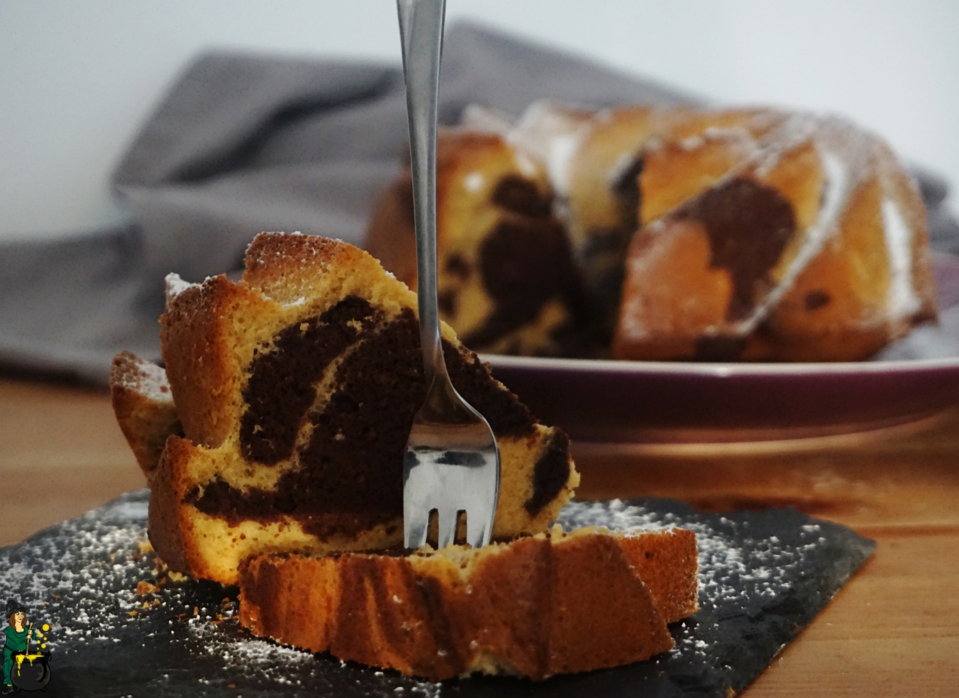 Marmorkuchen mit Amarula